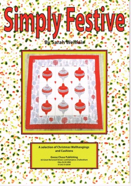Simply Festive Book By Sarah Wellfair Goose Chase Publishing