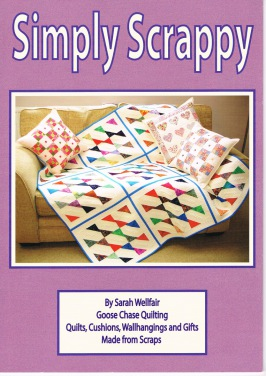Simply Scrappy book by Sarah wellfair Goose Chase Publishing
