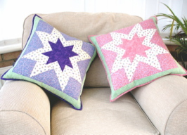 Star Bright Cushions By Sarah Wellfair Simply Christmas Book