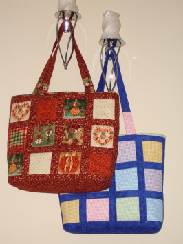 Window Shopping Bag By Sarah Wellfair Simply Christmas Book