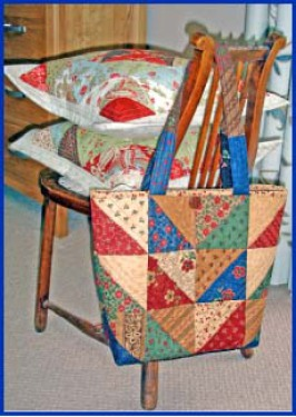 Charming Triangles Bag By Sarah Wellfair in Simply Charming Book