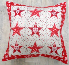 Simply Festive Cushion by Sarah Wellfair  Simply Festive Book